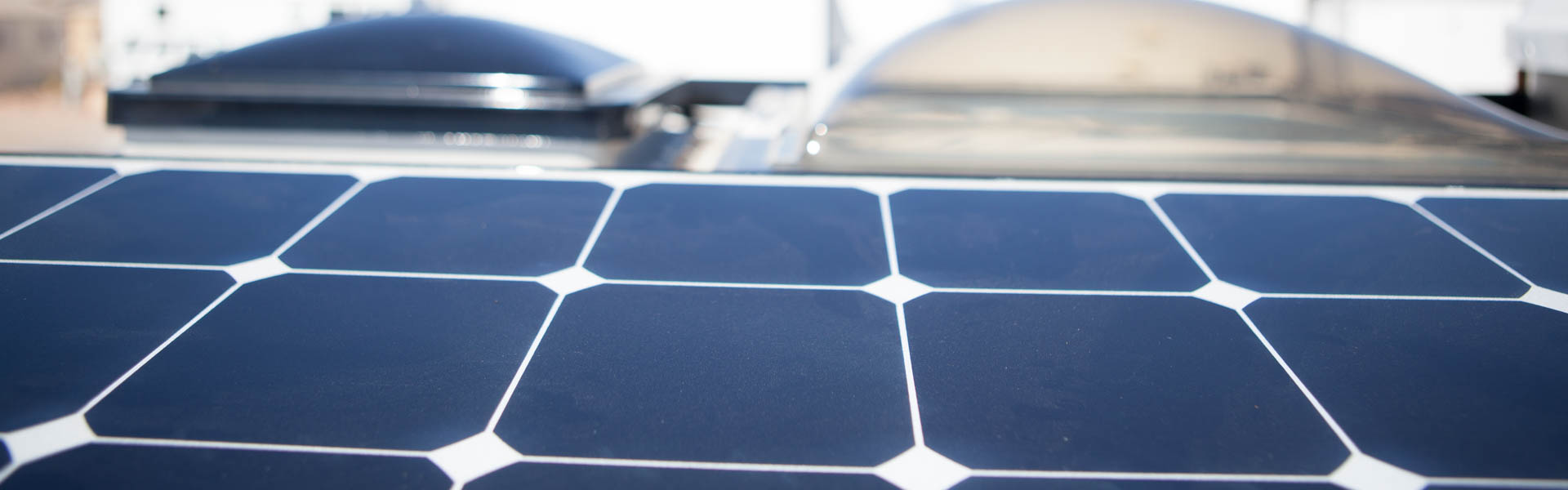 RV Solar Panel Installed by Precision RV