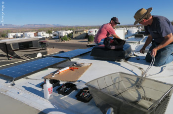 RV Solar Installation, Marvin Braun Precision RV
