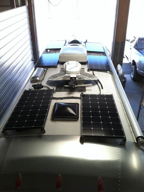 Solar and Satellite Installation - Precision RV Repair