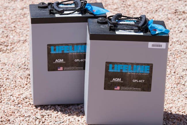 RV Batteries - Lifeline AGMs