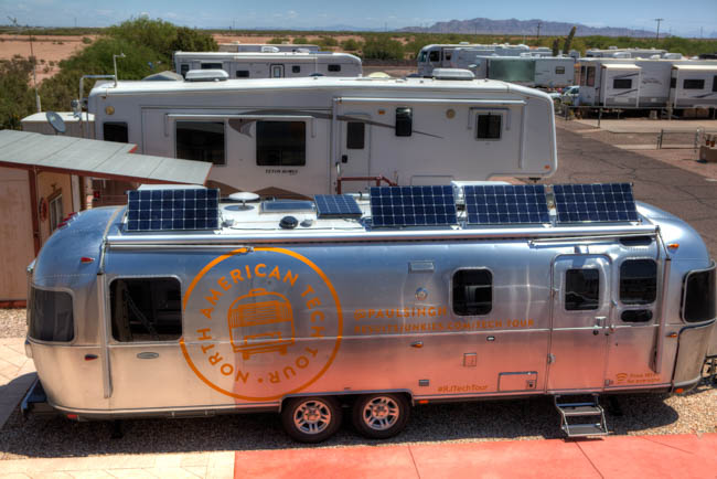 Airstream Solar Installation by Precision RV