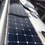 Airstream Solar Installation Panels