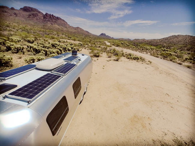 Airstream Solar for boondocking