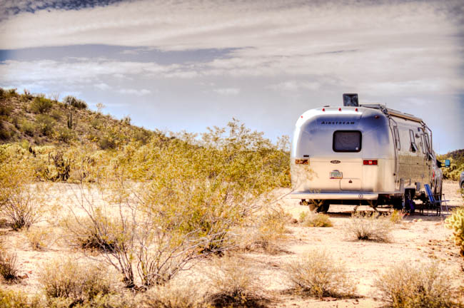 Airstream Solar Boondocking from Marvelous Marv