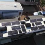 2000 Watt Lithium Ion RV Solar Setup