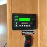 Hybrid Inverter Control Panel installed in Winnebago Minnie Winnie